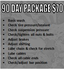 90 Day Service Package