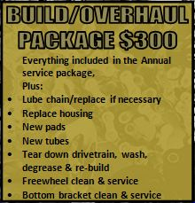 Overhaul Service Package