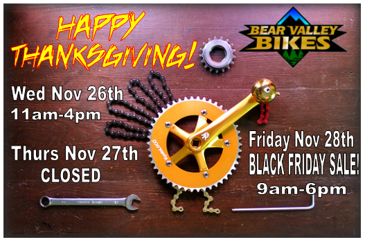 Thanksgiving opening hours