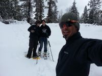snowshoe group